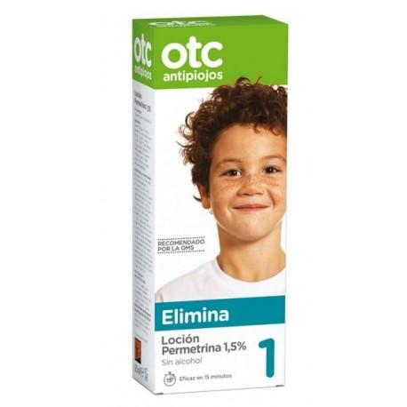 otc 1 elimina locion permetrina 1,5% 125 ml