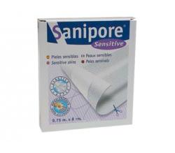 sanipore sensitive tira recort 0,75mx8cm