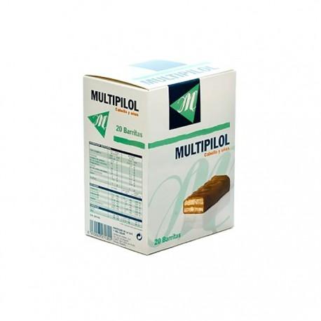 Multipilol Cabello Y Uñas 20 Barritas