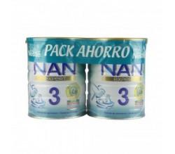 Nan 3 pack ahorro 2 X 800gr