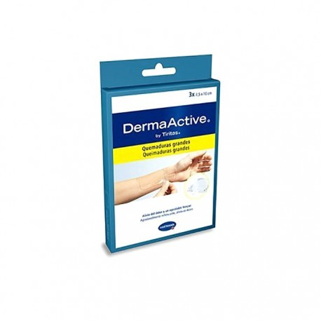 DermaActive quemaduras grandes 3uds