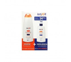 LETIAT4 PACK GEL 750 ML + LECHE CORPORAL 250 ML
