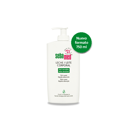 sebamed leche corporal 400 ml.