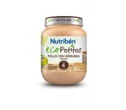 NUTRIBEN ECO MACEDONIA DE FRUTAS SELECTAS POTITO 250g