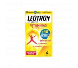 Leotron vitaminas 30 cápsulas (+10 cápsulas de regalo)