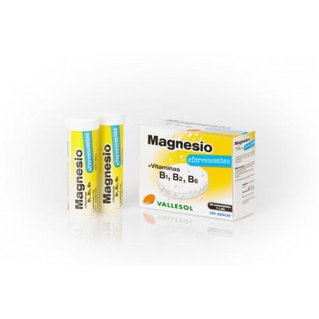 vallesol magnesio 24 comp. efervescentes