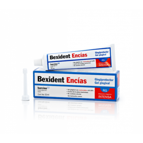 bexident encias pasta dental 75 ml.