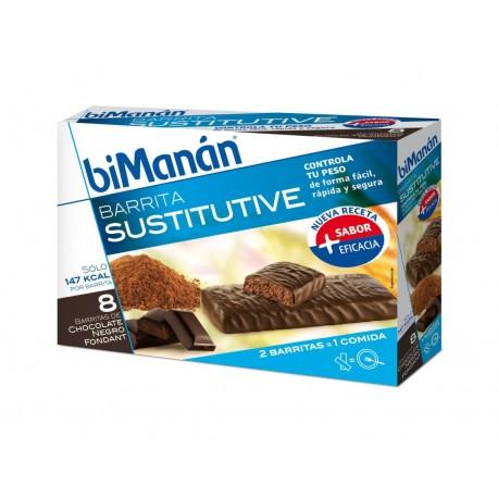 bimanan barrita chocolate intenso 40 g 8 bar
