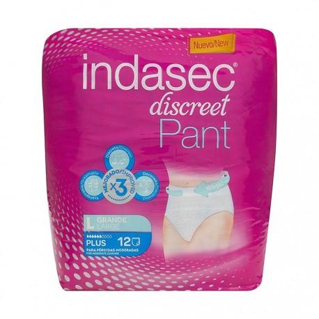 Indasec Discreet Pant Plus Talla Grande 12 Uds