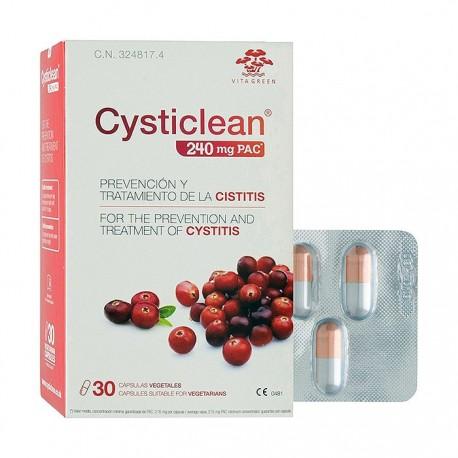 cysticlean 118 mg 30 comprimidos