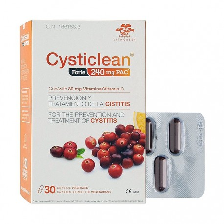 Cysticlean Forte 240mg PAC 30 Capsulas