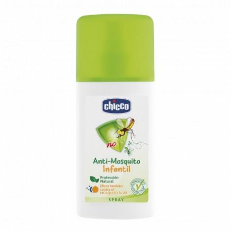chicco antimosquitos spray repelente uso humano 100 ml