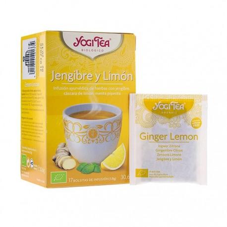Yogi Tea Infusión Jengibre y Limon 17 Bolsitas