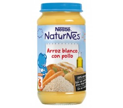 nestle g. arroz y pollo 250 gr