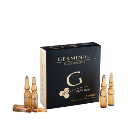 Germinal Ampollas Flash Acción Inmediata Piel Seca 5 x1.5ml