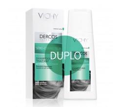 Duplo Dercos Champú Sebo-Corrector Pelo Grasos 2 x 200ml