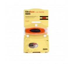Isdin CitroBand UV Tester pulsera recargable con 2 pastillas