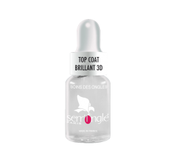 LISANDRA Tratamiento Uñas Top Coat Brillante 3D 5ML