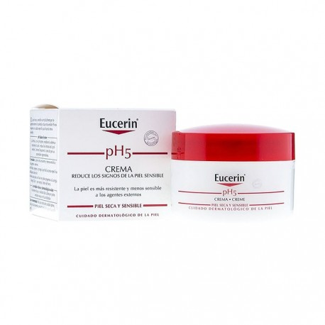 eucerin ph5 crema tarro 75 ml.