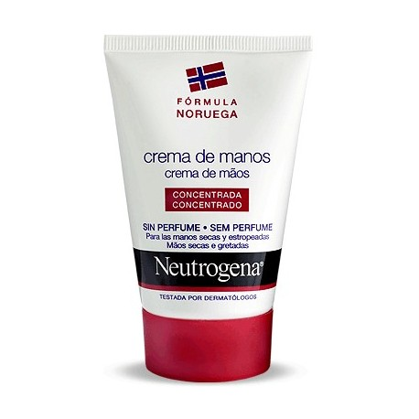neutrogena crema manos s/perfume 50 ml.