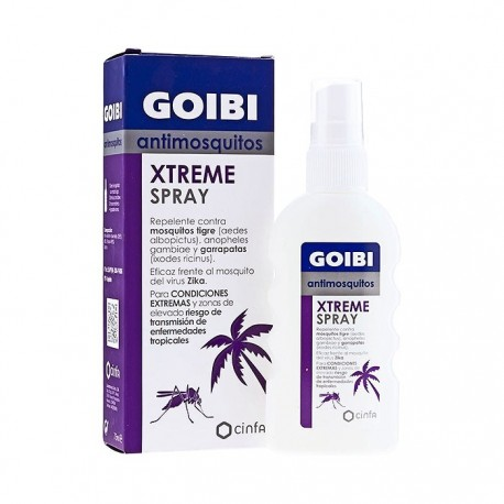Goibi Extreme Tropical Antimosquitos Repelente en Spray 75ml