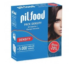 PILFOOD PACK DENSITY 60 CAPS + CHAMPÚ
