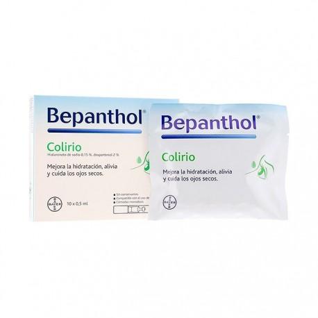 bepanthol colirio 0,5ml x 10 monodosis