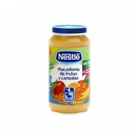 nestle g. macedonia fruta/cereal 250 gr