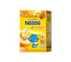 nestle 8 cereales miel 600 gr
