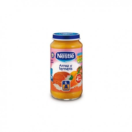nestle g. arroz y ternera 250 gr