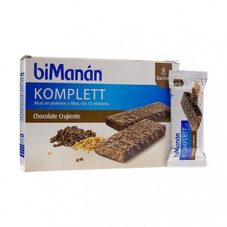 Bimanan Komplett Barritas de Chocolate 8 uds