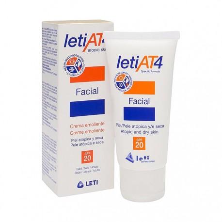 Leti AT4 Crema Facial SPF20 Pieles Atópicas 50 ml