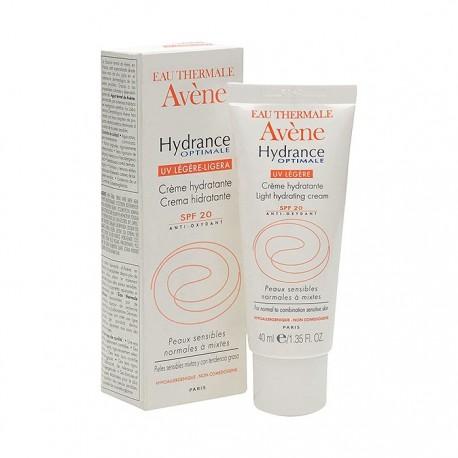 Avène Hydrance Optimale Pieles Secas SPF20+ 40ml