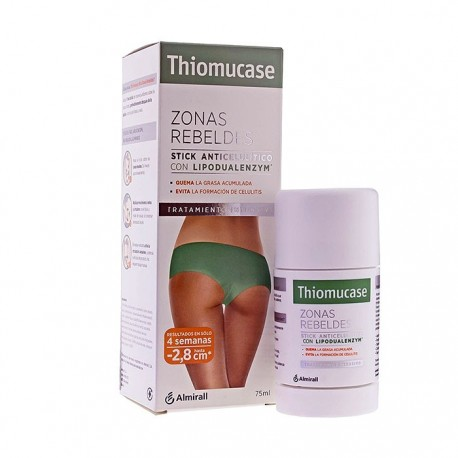Thiomucase Zonas Rebeldes Stick Anticelulítico 75 ml