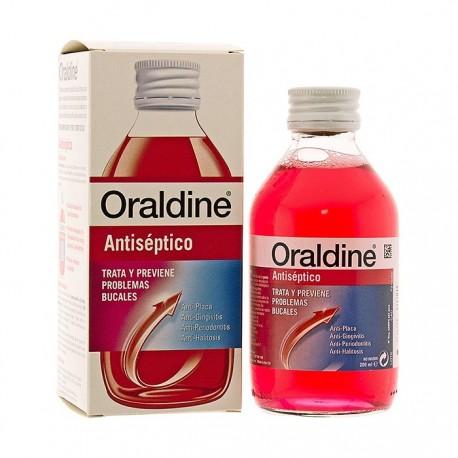 oraldine antiseptico 200ml.