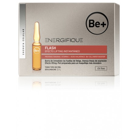 Be+ Energifique Ampollas Efecto Flash 5Ud x 2ml.