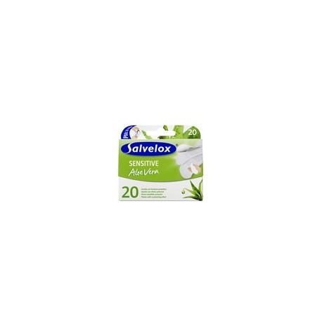 salvelox sensitive aloe vera 20 apositos