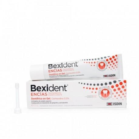 bexident encias gel clorhexidina 75 ml.