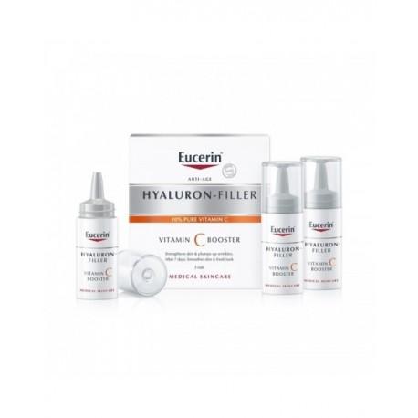 Eucerin Hyaluron- Filler Vitaminc Booster 3x8ml