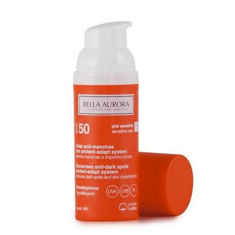 Bella Aurora Bella Aurora Crema Solar Con Color Spf50 Piel Sensible Farmacias 1000