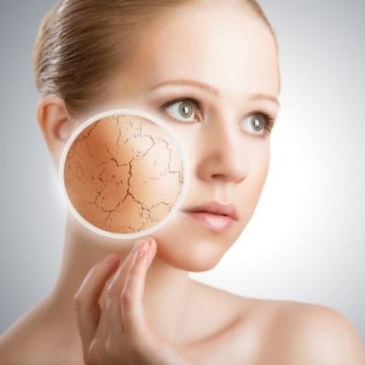 Sequedad facial: labios, nariz y rostro secos. ¿Cuál en la solución?
