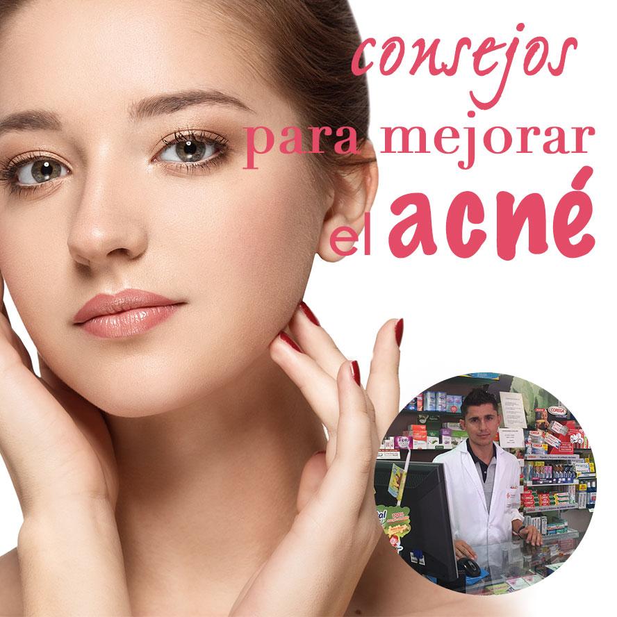 Consejos para mejorar el acné