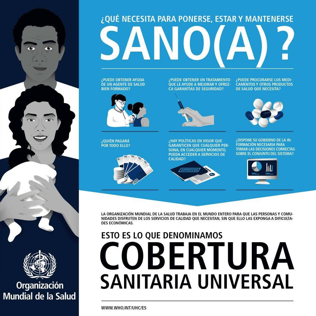 Infografía CSU. Día Mundial de la Salud.