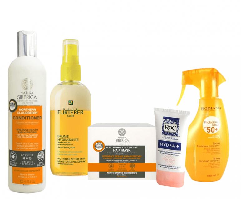 Pack Natura Siberica Para El Cuidado Del Cabello En Verano para proteger el pelo