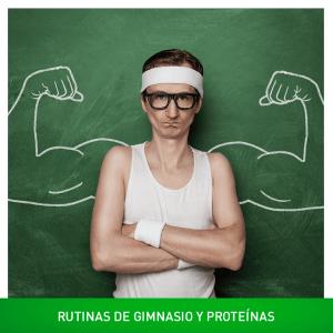 Vuelve el hombre. Rutinas de gimnasio para abdominales y extra proteínas