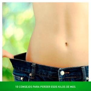 10 consejos para adelgazar y perder esos kilos de más