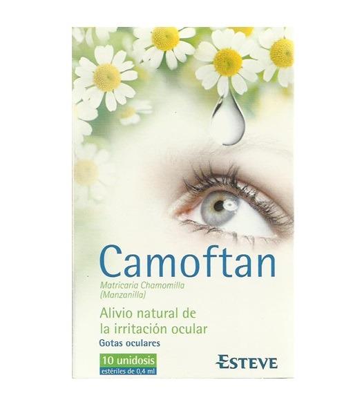 Camoftan Irritacion Ocular 10ud x 0,4ml