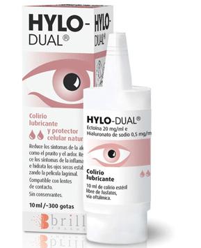 Hylo-Dual para tratar alergias