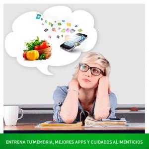 Entrena tu memoria, mejores apps y cuidados alimenticios