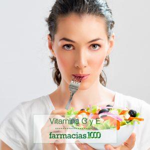 vitamina c y vitamina e